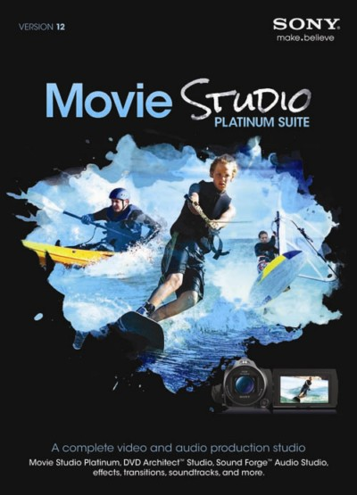 Sony Movie Studio Platinum 12.0.576 + Keygen + Reg