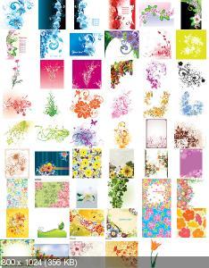 Цветы [Вектор] / Flowers [Vector] (2012)