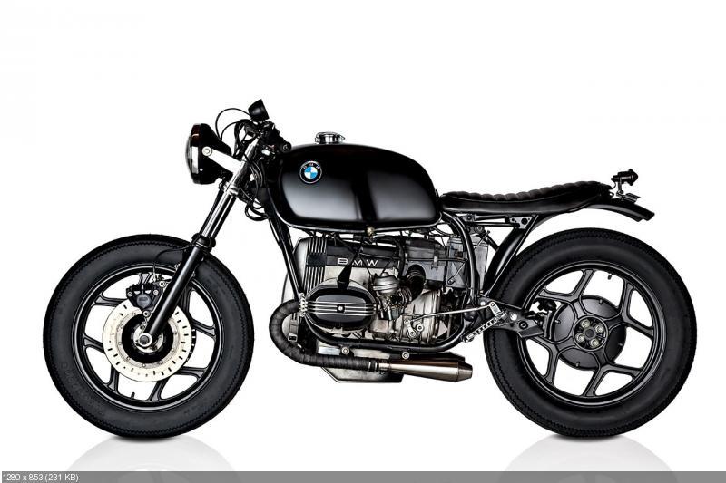 Кафе рейсер BMW R80S Brafe Racer