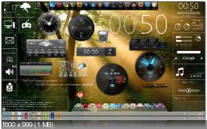 XWidget 1.8.0.109 + Gadget Pack (2013/Multilanguage)