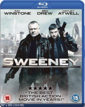Летучий отряд Скотланд-Ярда / The Sweeney (2012) Blu-ray