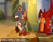 Три богатыря на дальних берегах (2012) DVDRip
