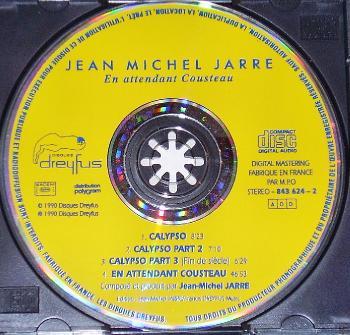 Jean Michel Jarre - Oxygene (1976), Equinoxe (1978), Magnetic Fields (1981),Les Concerts en Chine(1982),En attendant Cousteau(1990),Images (1991),flac,mp3