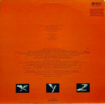 Andy Summers - XYZ (1987) vinyl-rip