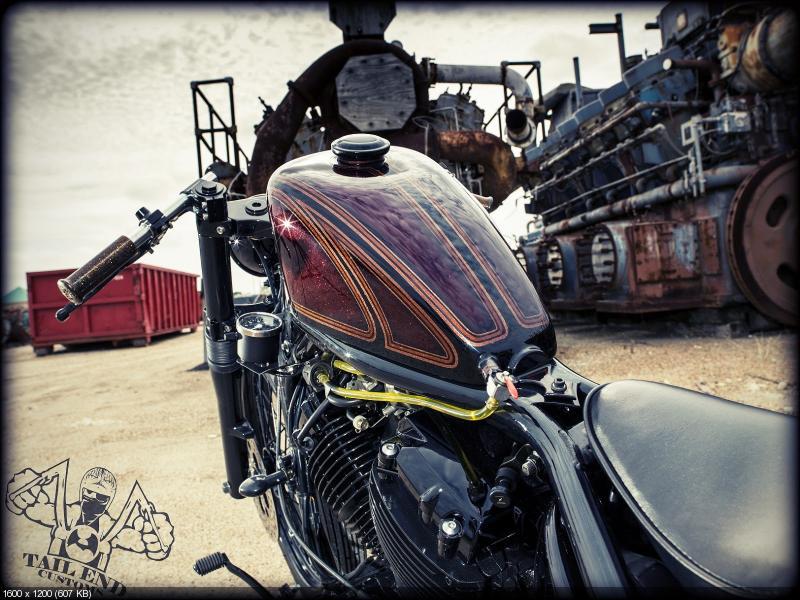 Боббер «Back Alley Brawler» на базе Yamaha V-Star 650 2003