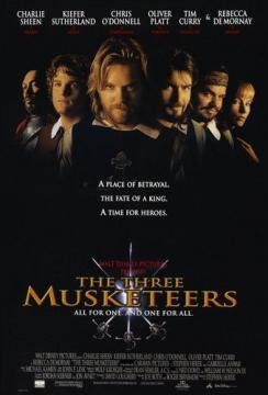Три мушкетера / The Three Musketeers (1993) BDRip 720p