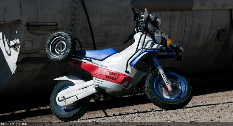 Кастом Icon 1000 Thug Life на базе Honda EZ-90 Cub