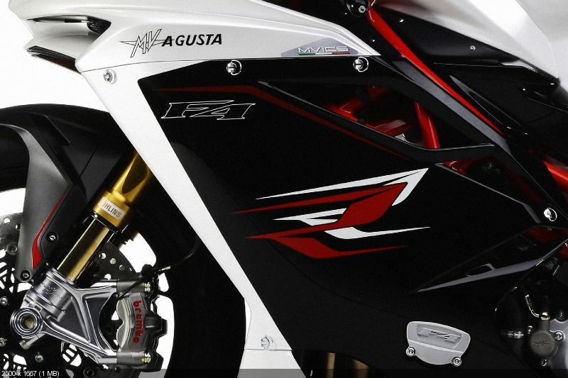 Спортбайки MV Agusta F4 2013 комплектуются системой Bosch 9MPlus (ABS+RLM)